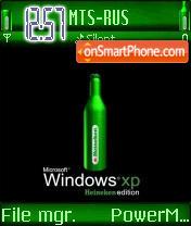 XP Heineken edition theme screenshot