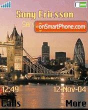 London es el tema de pantalla