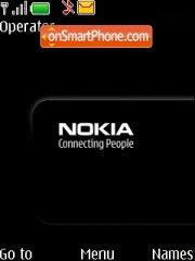 Nokia Connecting People es el tema de pantalla