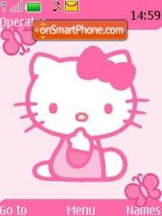 Hello Kitty 17 theme screenshot