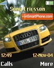 Audi A3 es el tema de pantalla