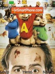 Alvin Nd D Chipmunks theme screenshot