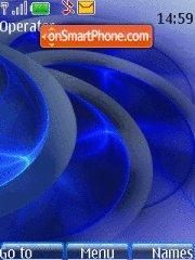 Abstract Blue es el tema de pantalla