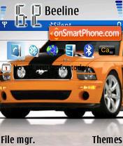 Mustang 07 es el tema de pantalla