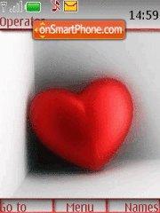 Love Heart theme screenshot