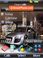 Audi R8 i-style theme screenshot