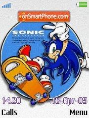 Sonic 05 es el tema de pantalla