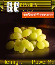 Jucy Grapes es el tema de pantalla