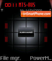 Alienware 07 es el tema de pantalla