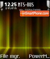 IAurora Gold S60v2 theme screenshot