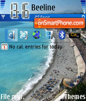 Nice Coast es el tema de pantalla