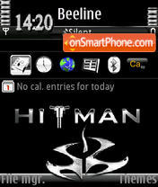 HiTman animated s60v3 es el tema de pantalla
