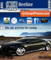 Audi Locus 01 es el tema de pantalla