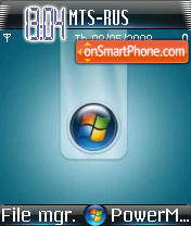 Vista 3 theme screenshot