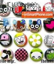 Emo theme screenshot