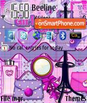 Girlygirl es el tema de pantalla