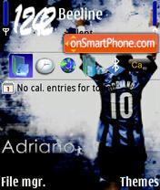 Adriano es el tema de pantalla