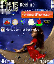 On The Moon tema screenshot