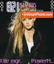 Hilary Duff 15 es el tema de pantalla