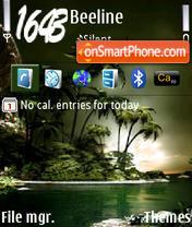 Tropic v2 es el tema de pantalla