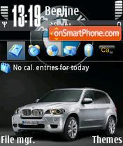 Bmw X5 06 es el tema de pantalla