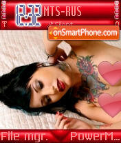 Tattu Girl es el tema de pantalla