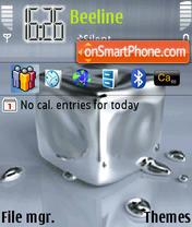 Mercury Animated theme screenshot