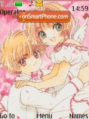 Li Kinomoto theme screenshot