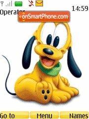 Baby Pluto 01 theme screenshot