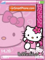 Hello Kitty 20 theme screenshot