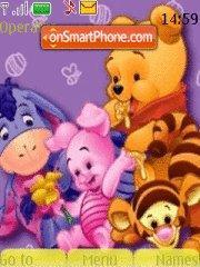 Pooh 15 es el tema de pantalla