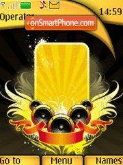 Yellow Music es el tema de pantalla
