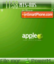 Apple Theme 02 es el tema de pantalla