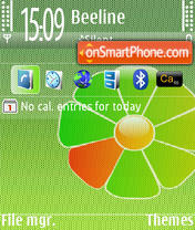 ICQ 01 theme screenshot