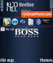 Boss theme screenshot