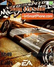 NFS Most Wanted01 es el tema de pantalla