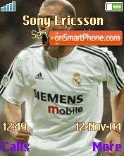 Real Zidane theme screenshot