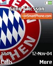 FC Bayern Munchen theme screenshot