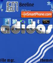 Adidazzz theme screenshot