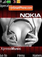 Nokia Xpress es el tema de pantalla