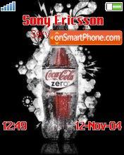 Coca Cola theme screenshot