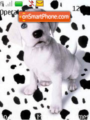 Cute Dog theme screenshot