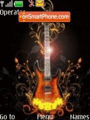 Guitar tema screenshot
