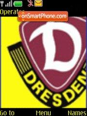 Dynamo Dresden theme screenshot
