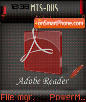 Adobe Read theme screenshot