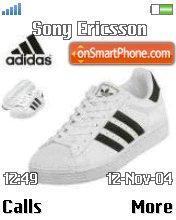 Adidas schuhe Dising theme screenshot