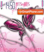 Abst Butterfly es el tema de pantalla