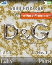 D&G 05 theme screenshot