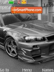 Nissan Skyline Gtr 06 theme screenshot