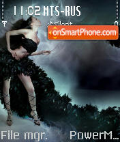 Diva 02 theme screenshot